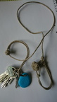 Key lanyard in hemp