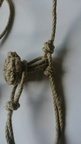 Star knot (detail of a key lanyard