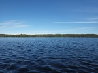 Water, and the edge of the boreal forest